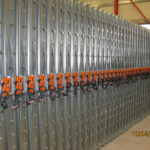 volume control dampers in production