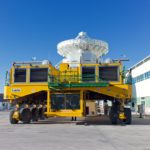 Spezialtransporter mit Regelklappen