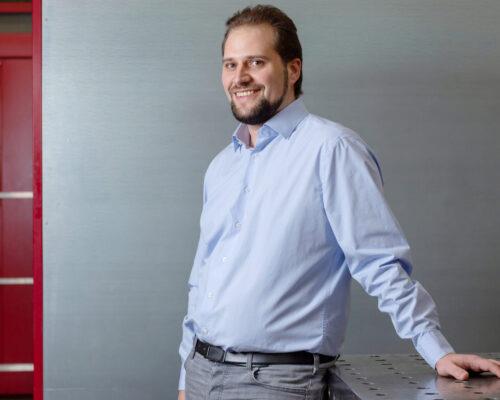 Timo Alber, Geschäftsführer der LUCOMA AG